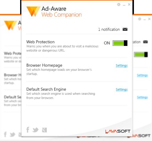 Viral Times Web: Ad-Aware Web Companion Home